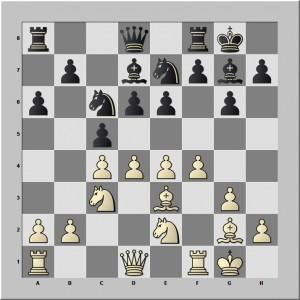 attaque au centre par d4