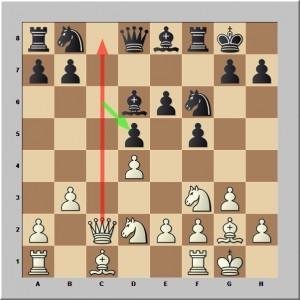 Reprise en d5 par c6