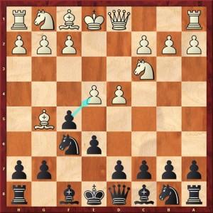 1.d4 f5 2.Cc3 Cf6 3.Fg5 e6 4.e4