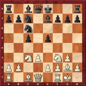 La variante Rubinstein 8...Fe7