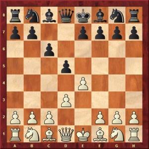 Diagramme 1.e4 c6 2.d3 d5
