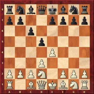 Diagramme 1.e4 c6 2.d3 d5jpg