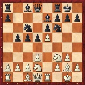 Diagramme les blancs jouent e5