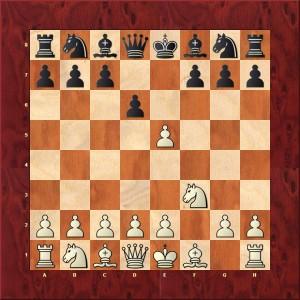 Gambit From accepté Prise unique 3.Cf3