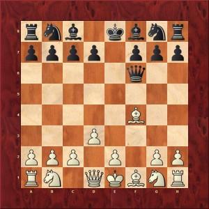 Refus du Gambit 3...Df6