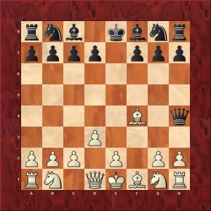 Refus du Gambit 3...Dh4